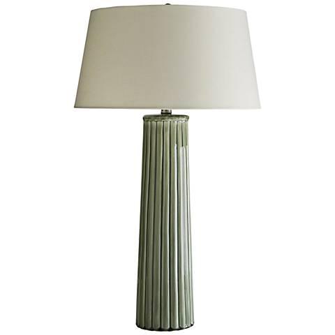 Arteriors Home Korey Meadow Crackle Glaze Table Lamp