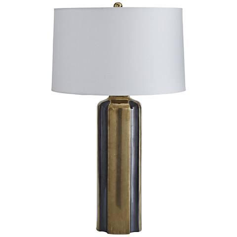 Arteriors Home Jordana Gold and Gunmetal Table Lamp
