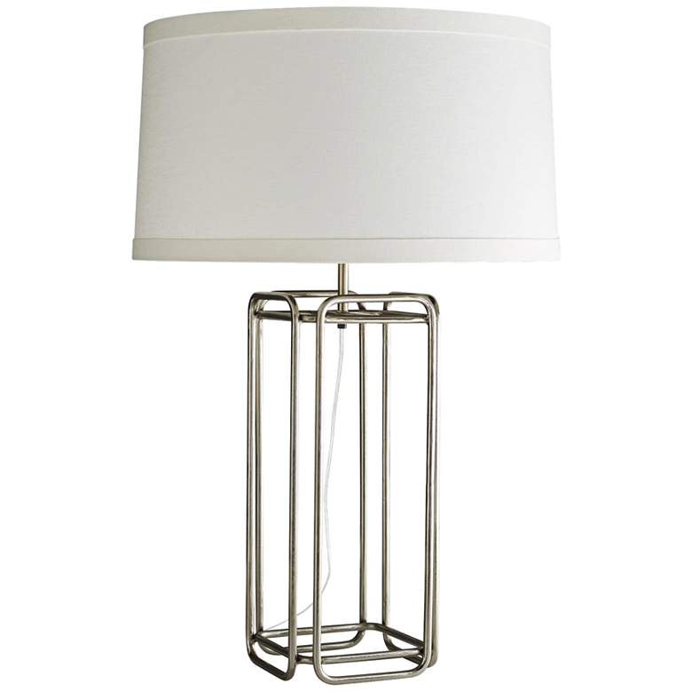 Arteriors Home Lars Vintage Silver Table Lamp