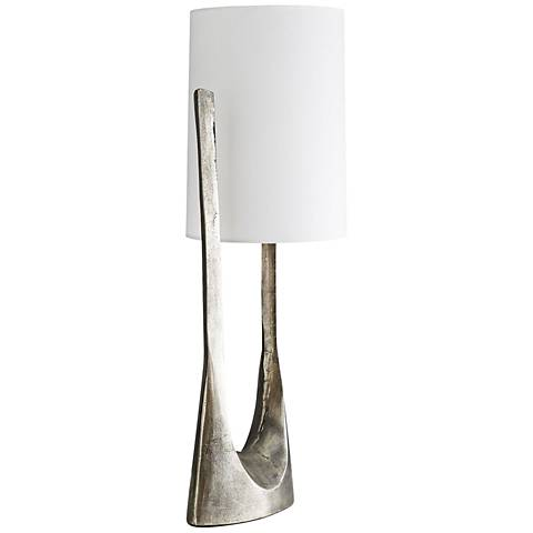 Arteriors Home Kenneth Antiqued Aluminum Table Lamp