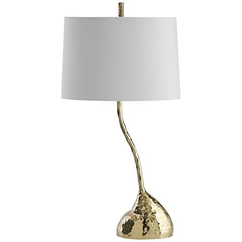 Arteriors Home Jacoby Polished Brass Table Lamp