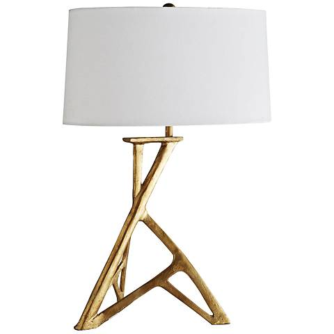 Arteriors Home Kamran Gold Leaf Table Lamp