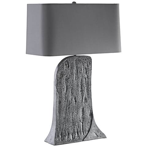 Arteriors Home Josef Antiqued Aluminum Table Lamp