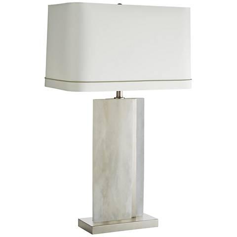 Arteriors Home Farrell White Marble Table Lamp