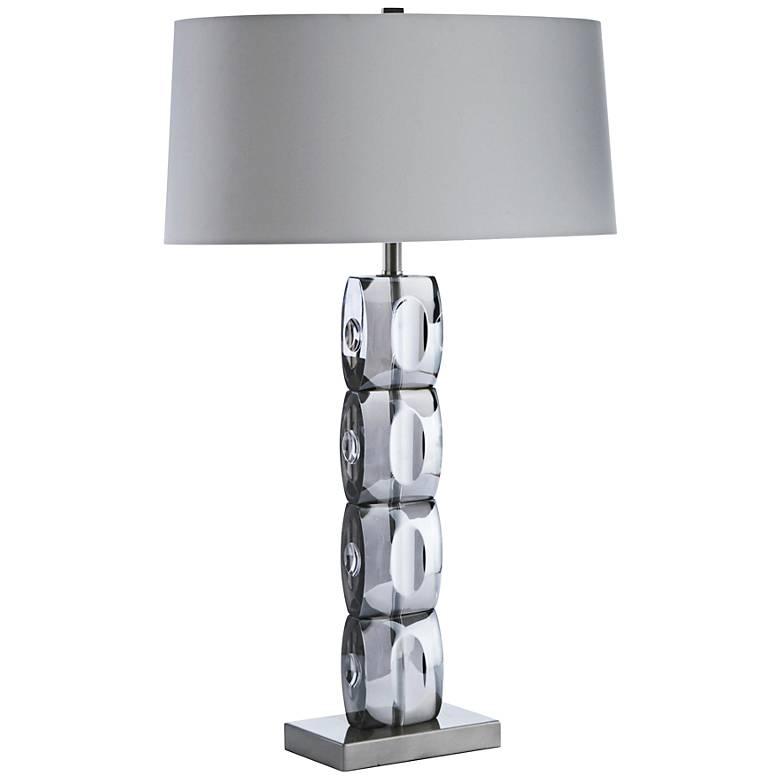 Arteriors Home Philomena Smoke Crystal Table Lamp
