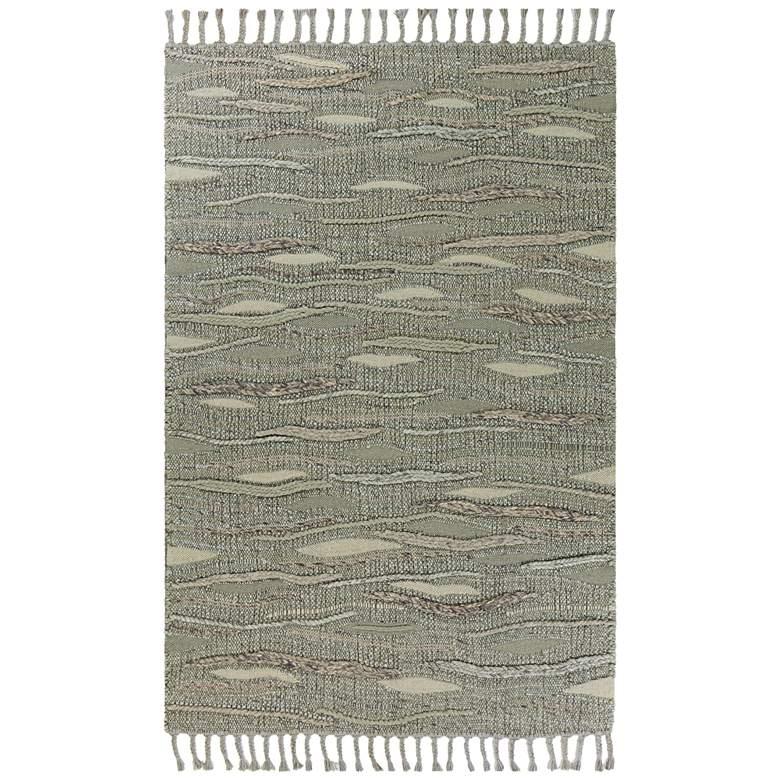Porter 0522 5'x7' Slate Breeze Area Rug