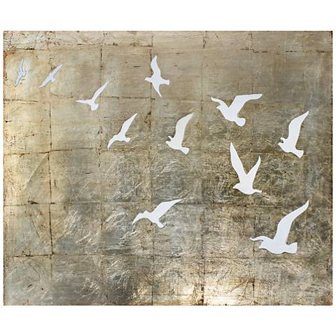 """Fly Away 36"""" Wide Canvas Wall Art"""