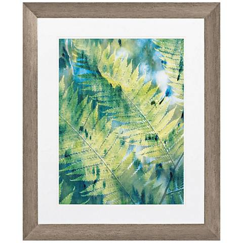 "Deep in The Tropic I 34"" High Framed Wall Art"