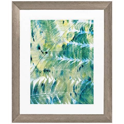 """Deep in The Tropic II 34"""" High Framed Wall Art"""