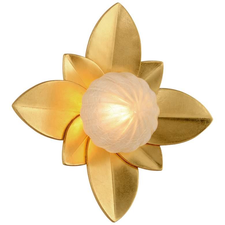"""Corbett Gigi 12"""" High Gold Leaf LED Wall"""