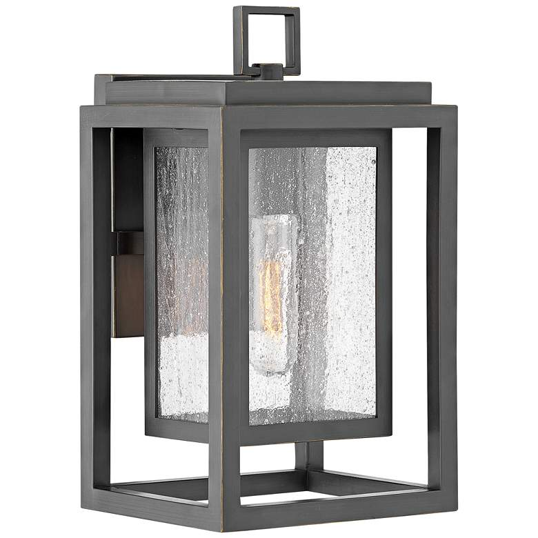 """Hinkley Republic 12""""H Oil-Rubbed Bronze Outdoor Wall Light"""