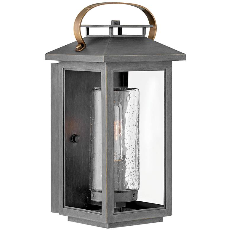 "Hinkley Atwater 14"" High Ash Bronze Outdoor Wall Light"
