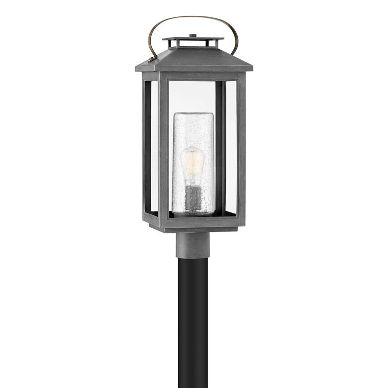 """Hinkley Atwater 23"""" High Ash Bronze Outdoor Post Light"""