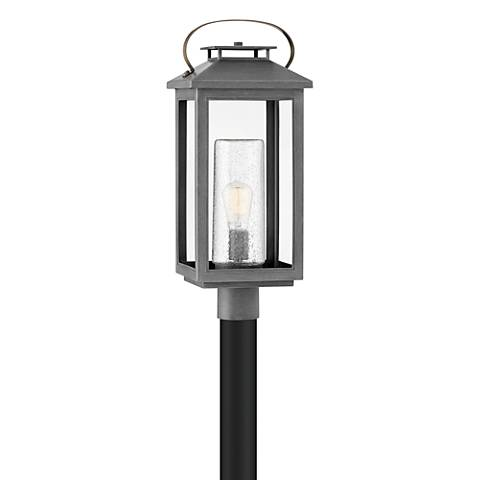 "Hinkley Atwater 23"" High Ash Bronze Outdoor Post Light"