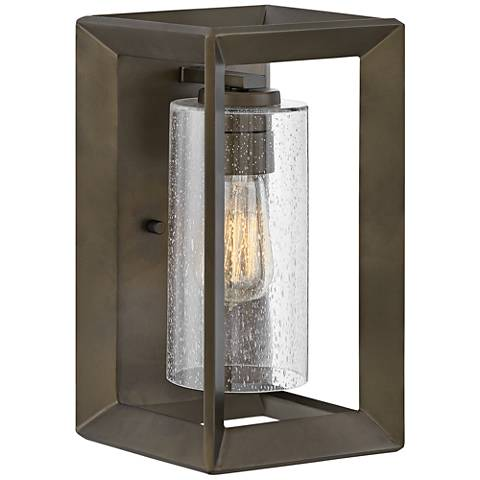 "Hinkley Rhodes 12 1/2"" High Warm Bronze Outdoor Wall Light"