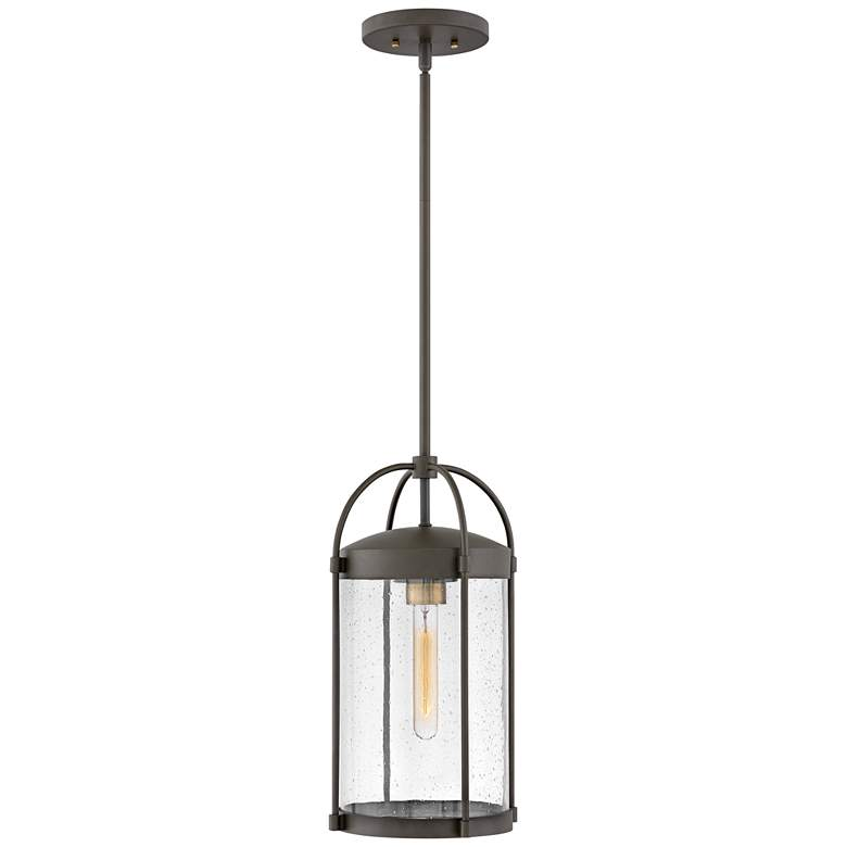 "Drexler 17 1/4"" High Oil-Rubbed Bronze Outdoor Hanging Light"