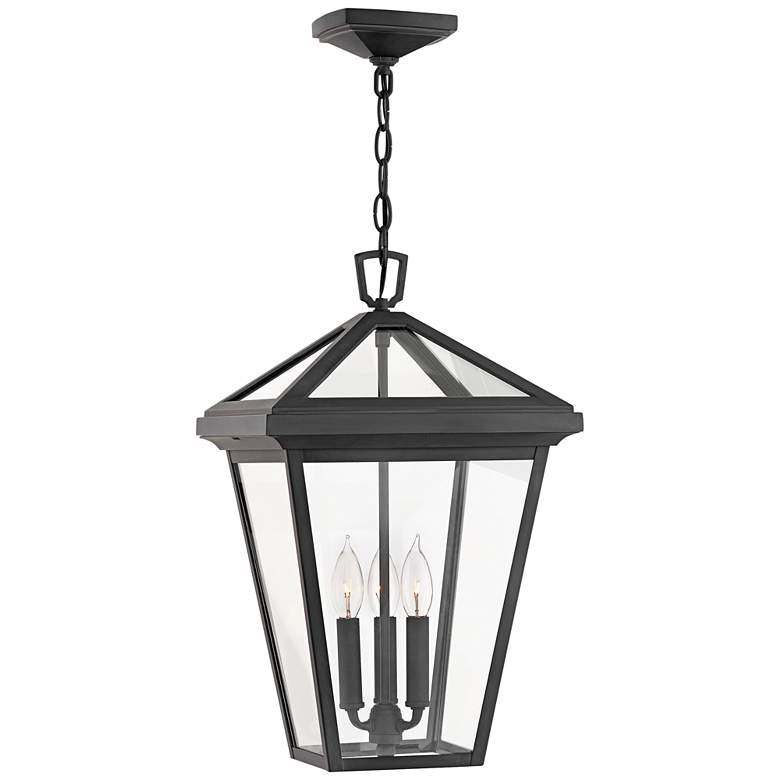 "Alford Place 19 1/2"" High Museum Black Outdoor Hanging Light"