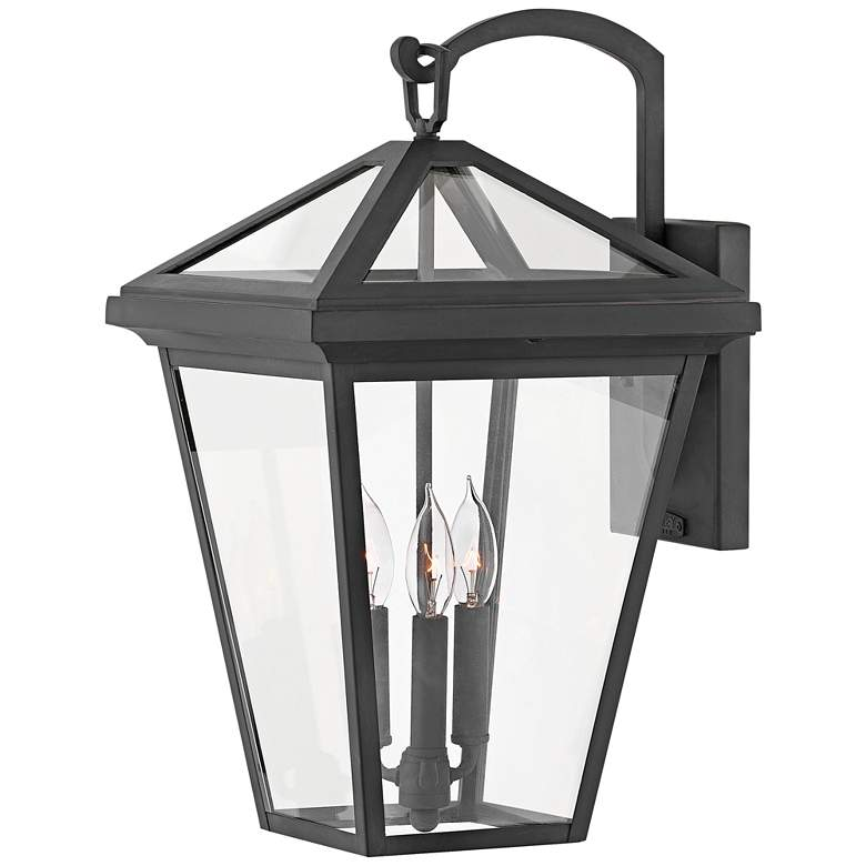 "Alford Place 20 1/2"" High Museum Black Outdoor Wall Light"