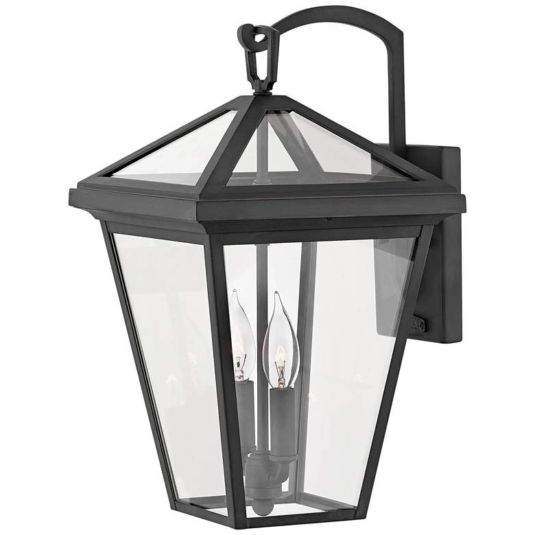 """Alford Place 17 1/2"""" High Museum Black Outdoor Wall Light"""