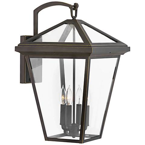 "Alford Place 24"" High Oil-Rubbed Bronze Outdoor Wall Light"