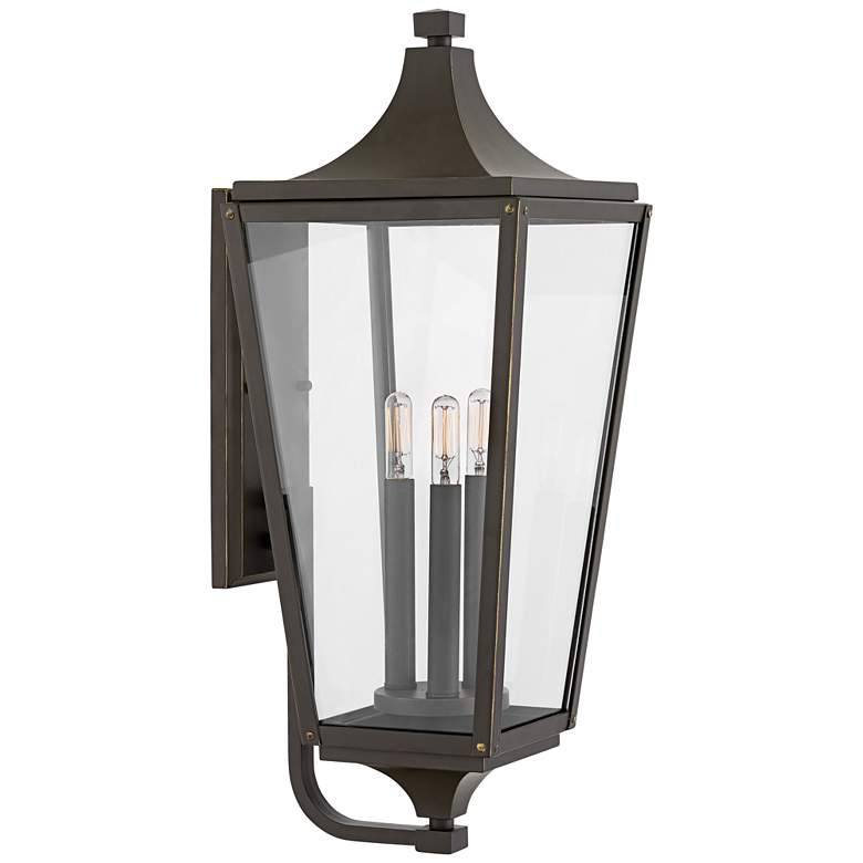 "Hinkley Jaymes 24"" High Oil-Rubbed Bronze Outdoor Wall Light"