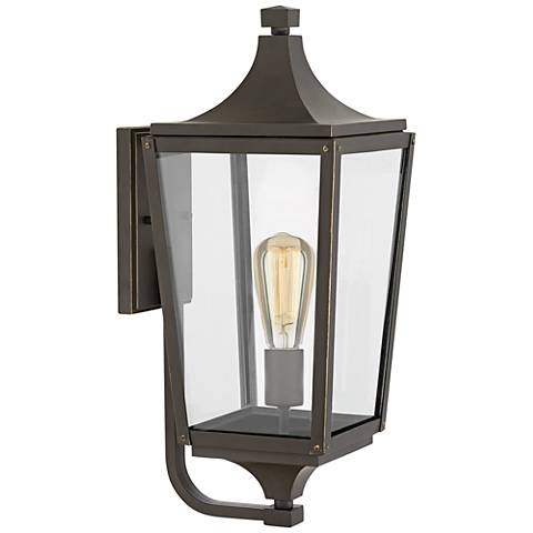 "Hinkley Jaymes 19 1/2""H Oil-Rubbed Bronze Outdoor Wall Light"