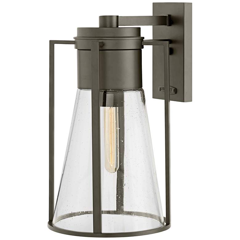 """Refinery 16 3/4"""" High Oil-Rubbed Bronze Outdoor Wall Light"""