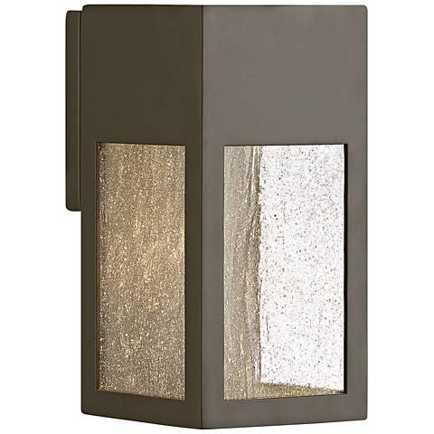 """Hinkley Rook 9 1/2"""" High Bronze Outdoor Wall Light"""