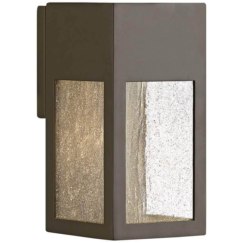 "Hinkley Rook 9 1/2"" High Bronze LED Outdoor Wall Light"