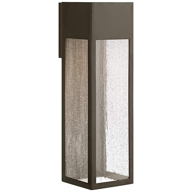"Hinkley Rook 20"" High Bronze LED Outdoor Wall Light"