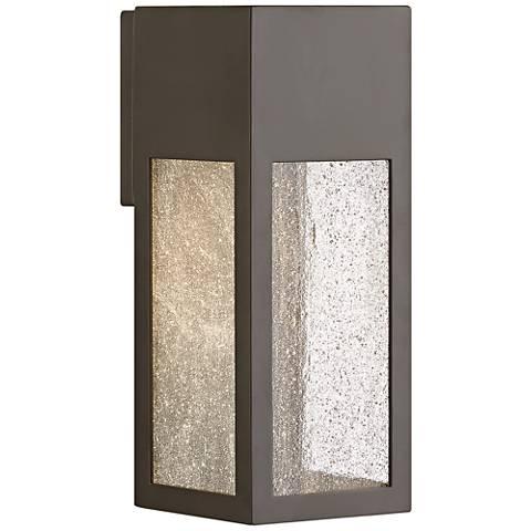 """Hinkley Rook 12"""" High Bronze Outdoor Wall Light"""