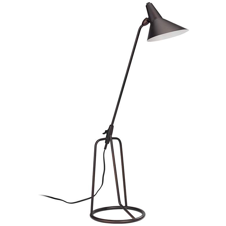 Jamie Young Franco Oil-Rubbed Bronze Tripod Desk Lamp