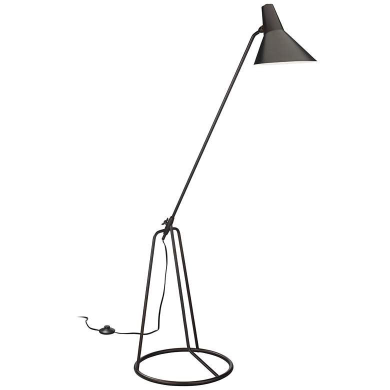 Jamie Young Franco Oil-Rubbed Bronze Tripod Floor Lamp