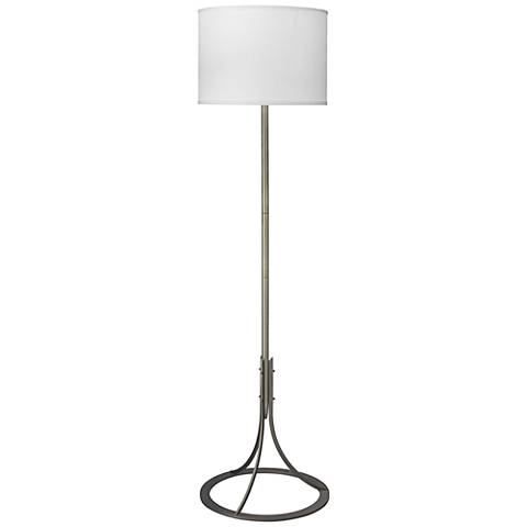 Jamie Young Lena Antique Silver Floor Lamp