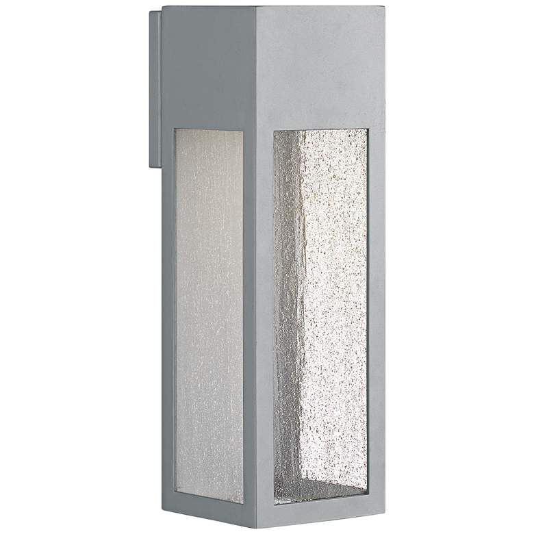"Hinkley Rook 15"" High Titanium LED Outdoor Wall"