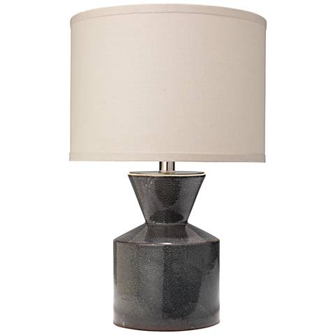 "Berkley 19 1/2"" High Royal Blue Ceramic Accent Table Lamp"