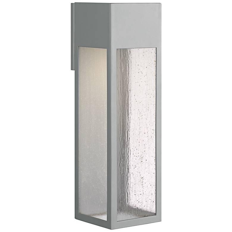 "Hinkley Rook 20"" High Titanium LED Outdoor Wall Light"