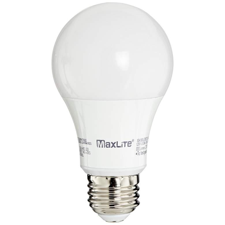 44W54 - LED 10W JA8 A19 Enclosable 3000K (60Weq)