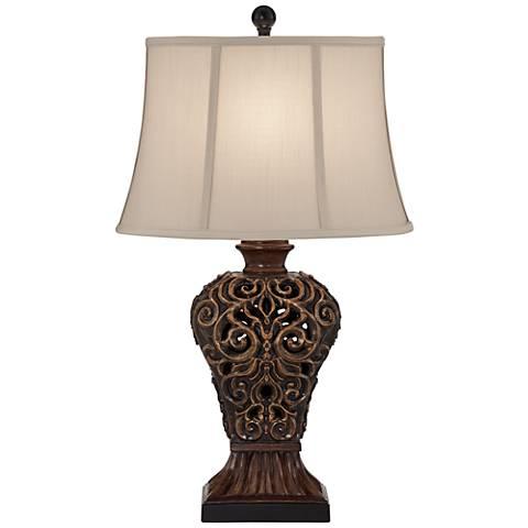 Kathy Ireland Scrolls Table Lamp