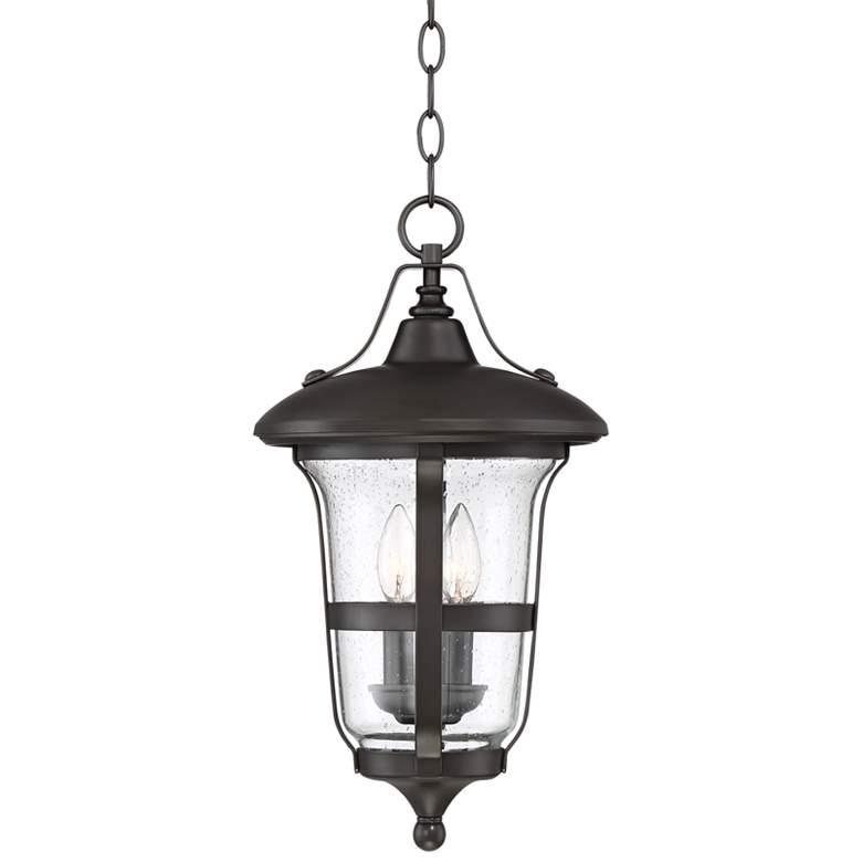 "Birmingham 19"" High Bronze 3-Light Outdoor Hanging Light"