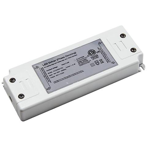 """Roswell 2.3"""" Wide White 24VDC 20W LED Dimmable Power Supply"""