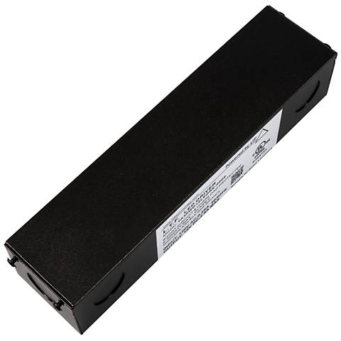 "SlimEdge™ 2"" Wide Black 24VDC 30W LED Dimmable Power Supply"
