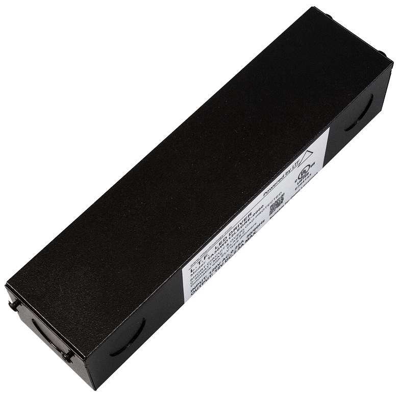 """SlimEdge™ 2"""" Wide Black 24VDC 60W LED Dimmable Power Supply"""
