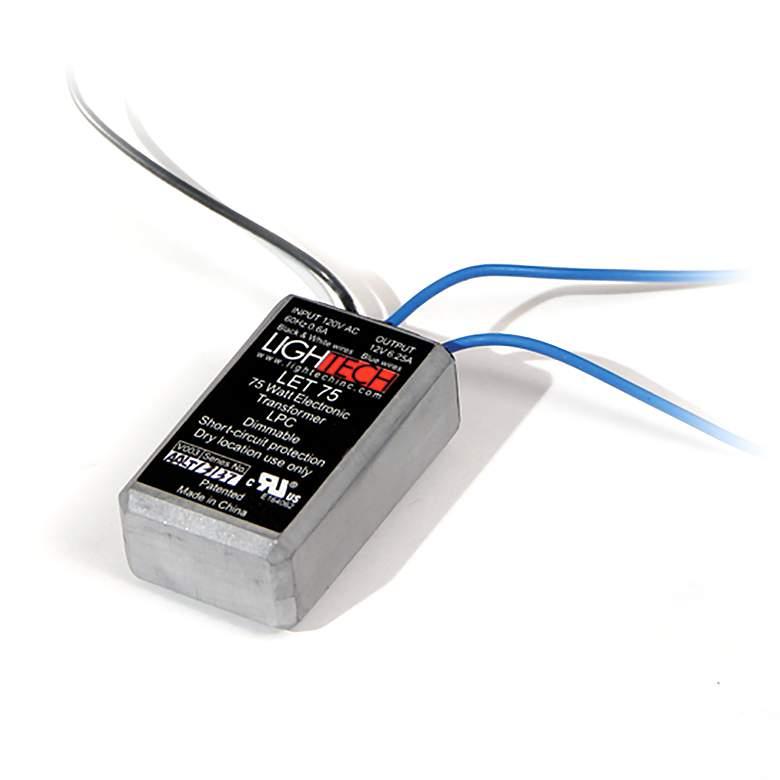 "SlimEdge™ Carra 1.5"" Wide 12VAC 75W Electronic Transformer"