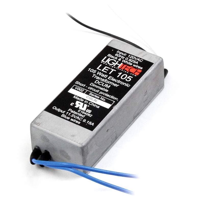 "SlimEdge™ 1.3""W 12V AC-50W-105W Electronic Transformer"