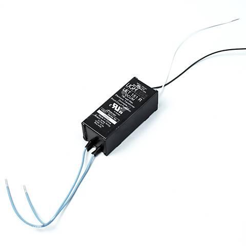 "Carra 1.3"" Wide Black 12VAC 150W Electronic Transformer"