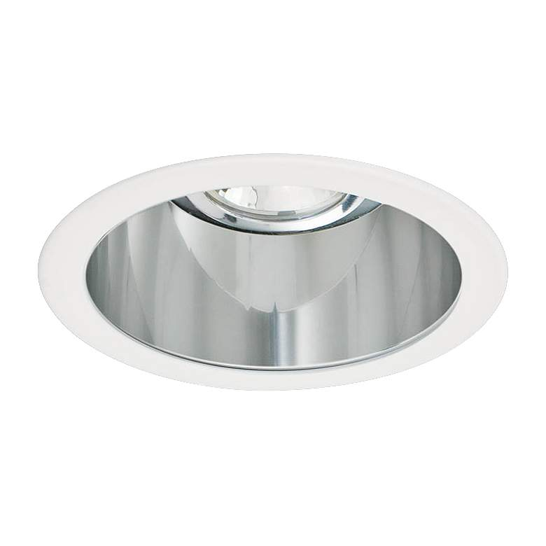 """Intense 3"""" Clear and White Recessed Lighting Trim"""