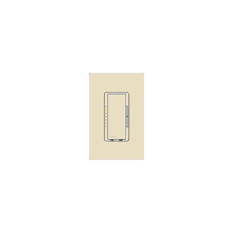 Lutron Maestro 600W Preset Single Pole Light Almond Dimmer