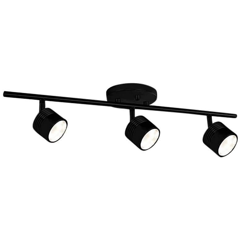 Lyra 3-Light Black LED Track Fixture