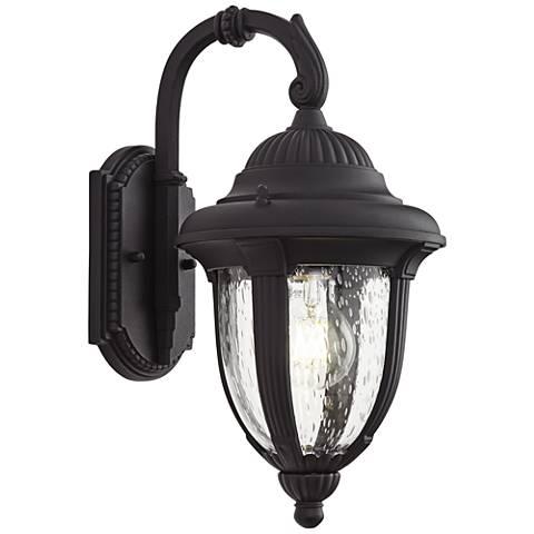 """Casa Sierra™ 14 1/2"""" High Black Outdoor Wall Light"""